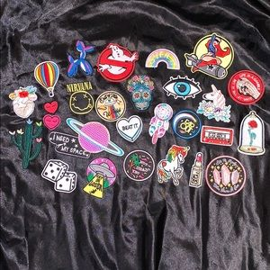 27 NO SEW IRON ON PATCHES!!!!